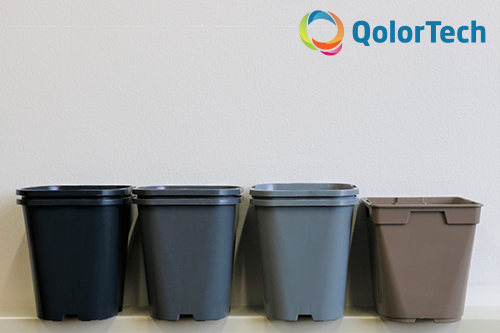 NIR colours for recycling PE/PP